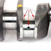 CAM6232 Mini 1275cc A+ Crankshaft with bearings