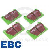 Brake Pad Set - Mini Sport Alloy Caliper - Greenstuff