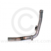 LD068C Maniflow down pipe with sensor take off, removes CAT  and fits to original manifold on Mini Cooper models '90on.