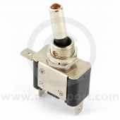 Toggle Switches - On/Off - with Amber LED