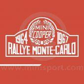 Rallye Monte-Carlo Decal Kit - Sides & Boot