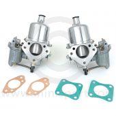 HS6 SU Twin Carburettor pair