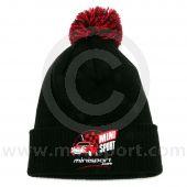Mini Sport Pom Pom Beanie Hat