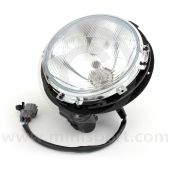 Complete Mini Headlight Assembly (RHD) - with motor