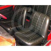 Mini Front Seat Cover Kit - Both Seats 1969-80