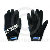 Mechanics Gloves - Sparco - Black