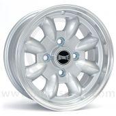 "5.5"" x 12"" silver Ultralite alloy wheel and Yokohama A539 tyre package"