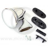 Adjustable Bullet Mirror - Chrome - LH