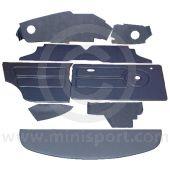 12 Piece Interior Panel Kit for Mini Clubman Saloon RHD 76-80