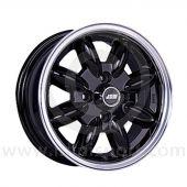 5.5 x 13 Minilight Wheel - Black/Polished Rim