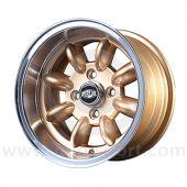 7 x 13 Superlight Wheel - Gold/Polished Rim