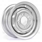 "Mini Cooper S Steel Wheel in Silver - 4.5"" x 10"""