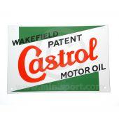 Castrol Classic Enamel Sign