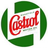 CASSTR599 Mini Castrol Bodywork Decal - Large