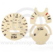 MCPIS.DIAL-90M John Cooper Magnolia Dial Set MPH