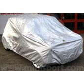 COV12/OD Waterproof outdoor cover finished in silver, to suit all Classic Mini Saloon models 1959 to 2001