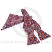 Self-Tie Bow Tie & Pocket Square in Union Jack Design
