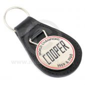 Cooper Large Leather Key Fob