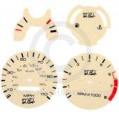 MCPIS.DIAL-110M John Cooper Magnolia Dial Set MPH
