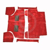 Carpet Set Red - Clearance