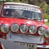 Mini Sport Small Flag Sticker
