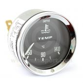 BT2240-00C Smiths Water Temperature Gauge black face & chrome bezel