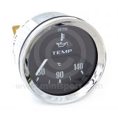 BT2240-01C Smiths Oil Temperature Gauge black face & chrome bezel