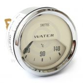 BT2240-04C Smiths Water Temperature Gauge magnolia face & chrome bezel