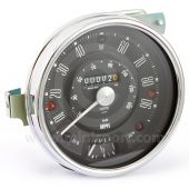 Smiths classic Mini Speedometer - 90mph black face