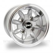 "Ultralite Classic Mini 6"" x 10"" Deep Dish Wheel in Silver"