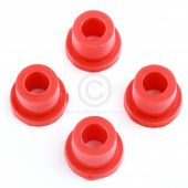 SPDSP657 Poly Mini suspension bottom arm bush kit - red set of 4