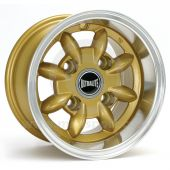 "6 x 10"" Ultralite Mini Deep Dish Wheel - Gold"