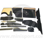 26 Piece Interior Panel Kit for LHD Mini Clubman Estate 76-80