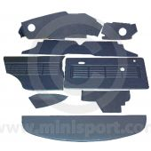 12 Piece Interior Panel Kit for Mini Clubman Saloon RHD 69-75