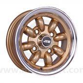 5 x 10 Minilight Wheel - Gold Polished Rim
