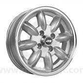 5 x 13 Minilight Wheel - Silver/Polished Rim