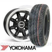 """6 x 10"""" Ultralite Black - Yoko A008 Mini Package"""