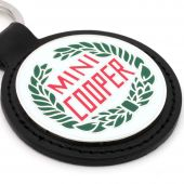 Mini Cooper Laurel Keyring