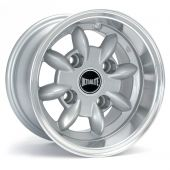 "6 x 10"" Ultralite Silver Deep Dish Wheels - Yoko A032R Package"
