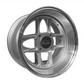 7 x 13 Mamba Wheel - Silver/Polished rim