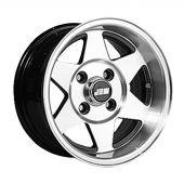 6 x 12 Starmag 2 Deep Dish Wheel - Black Hi-Lite
