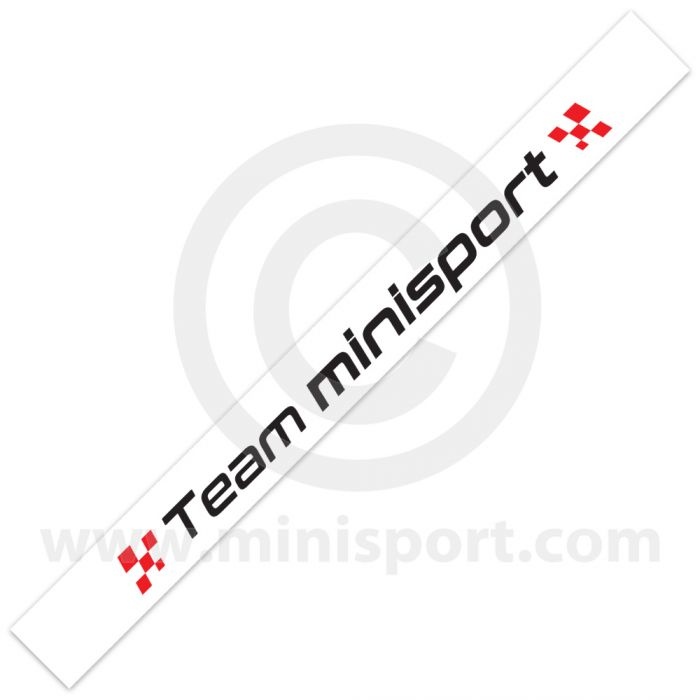 Team Mini Sport Visor Decal