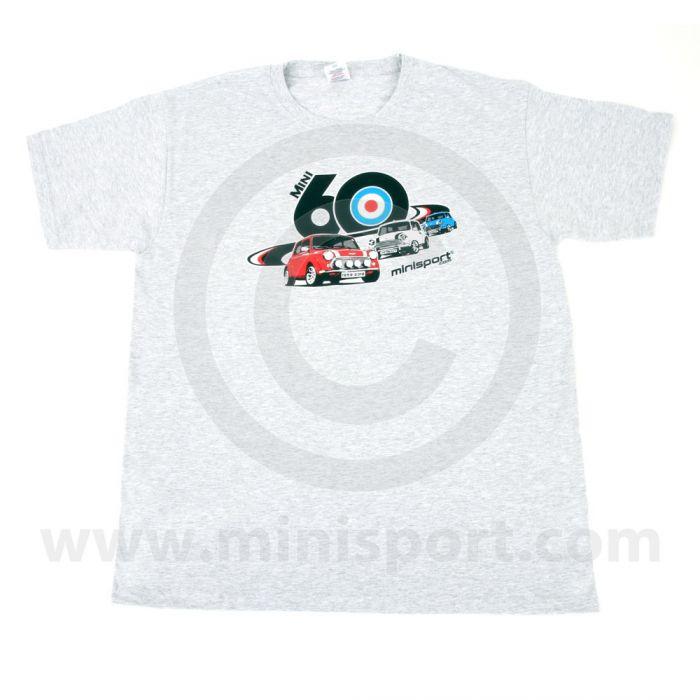 Grey 3 Minis T Shirt - Mini 60