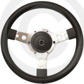 "Sport Steering Wheel - 14"" - Black Vinyl"