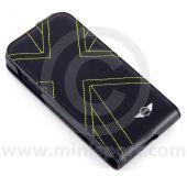 BM80.28.2.289.321 MINI Union Jack style phone flap case, suitable for Samsung Galaxy S4