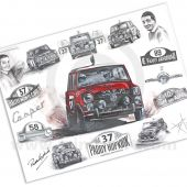 Paddy Hopkirk Limited Edition Print by ArtbyBex
