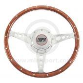 Cooper Wood Steering Wheel