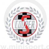 MCPXS.RQD-S Cooper S Rear Quarter Decals - Silver