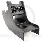 59-94 RHD Black Vinyl Centre Console inc. Airvents