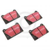 EBCDP3627 Red Stuff Pad Set - Mini Sport Alloy Calipers